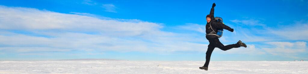 panorama śnieżka sunrise