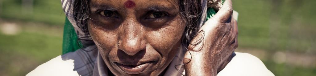 panorama tamilska kobieta