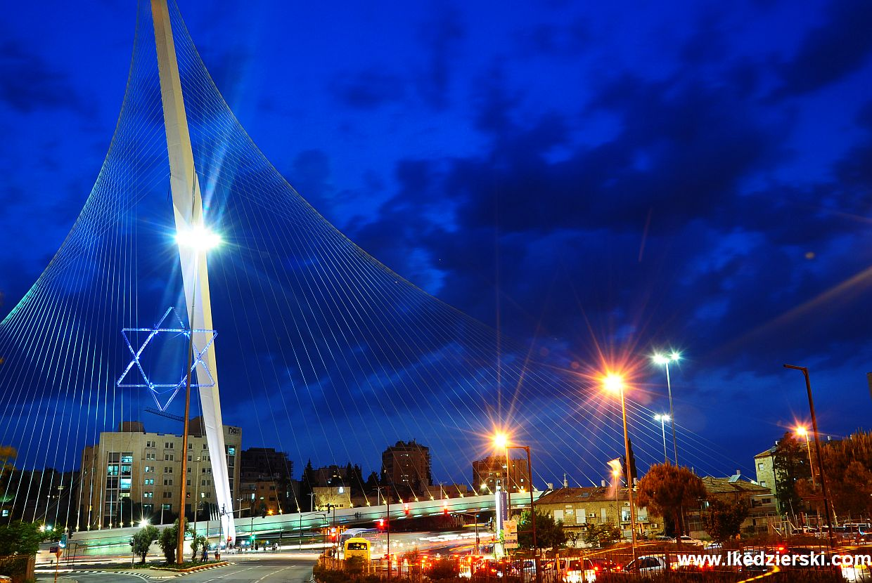 jerozolima most harfa davida The Bridge of Strings