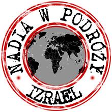 nadia w podróży izrael