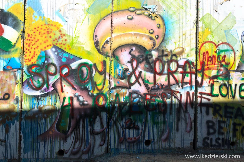 betlejem mur bezpieczeństwa graffiti