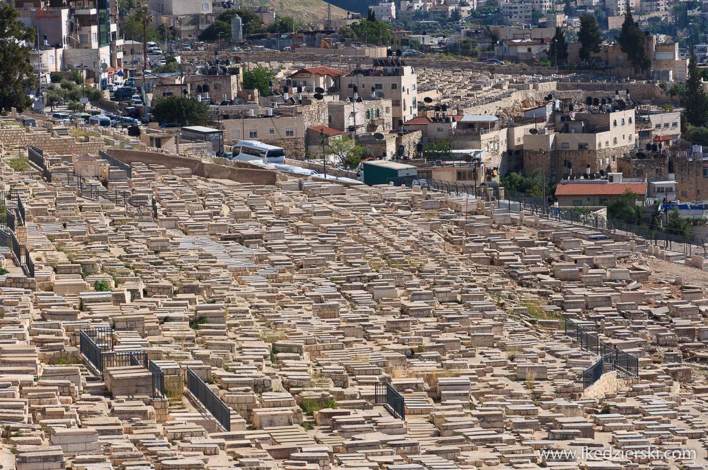 góra oliwna cmentarz żydowski