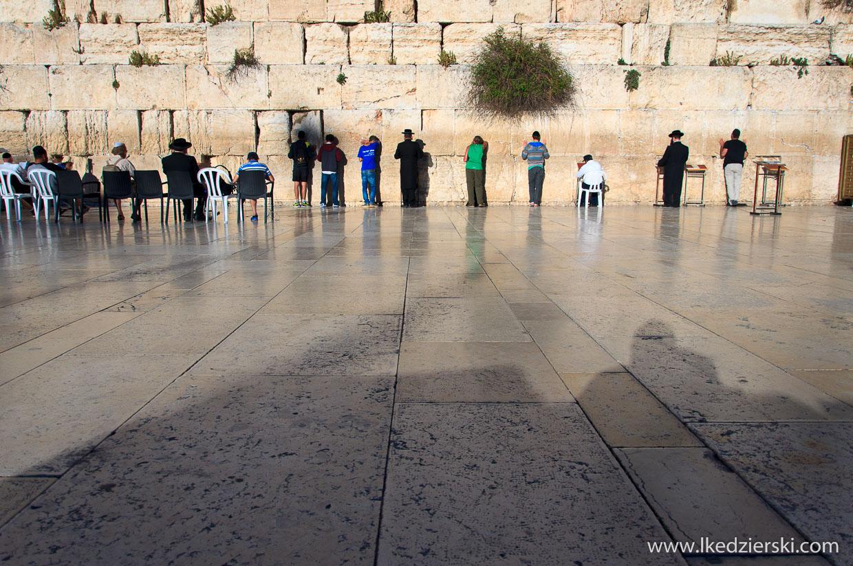 jerozolima ściana płaczu western wall