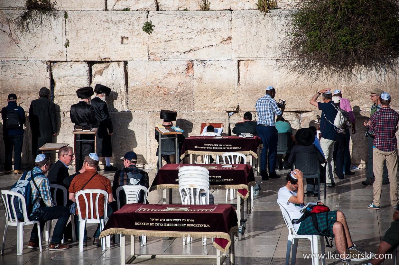 jerozolima ściana płaczu western wall Żydzi