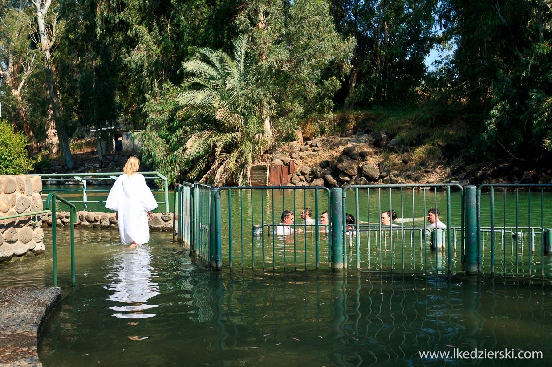 Yardenit miejsce chrztu Jezusa