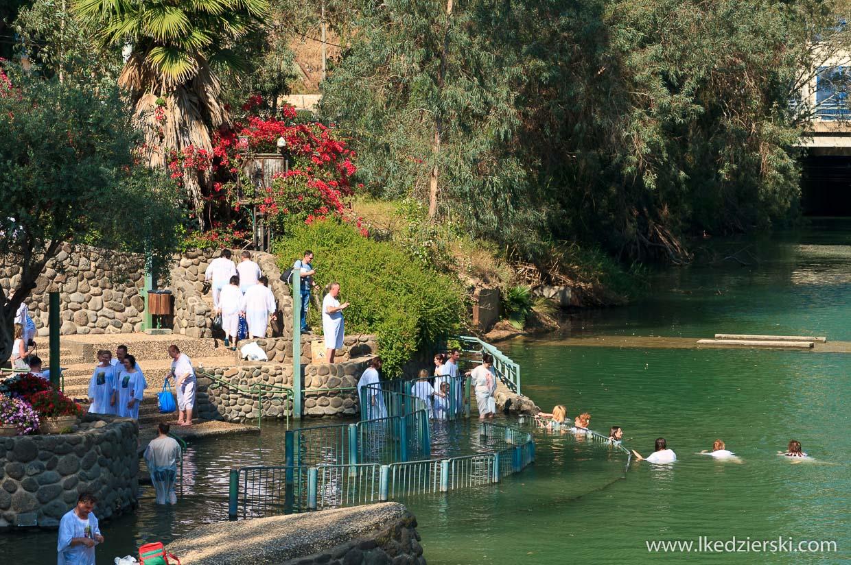 Yardenit miejsce chrztu Jezusa, rzeka Jordan