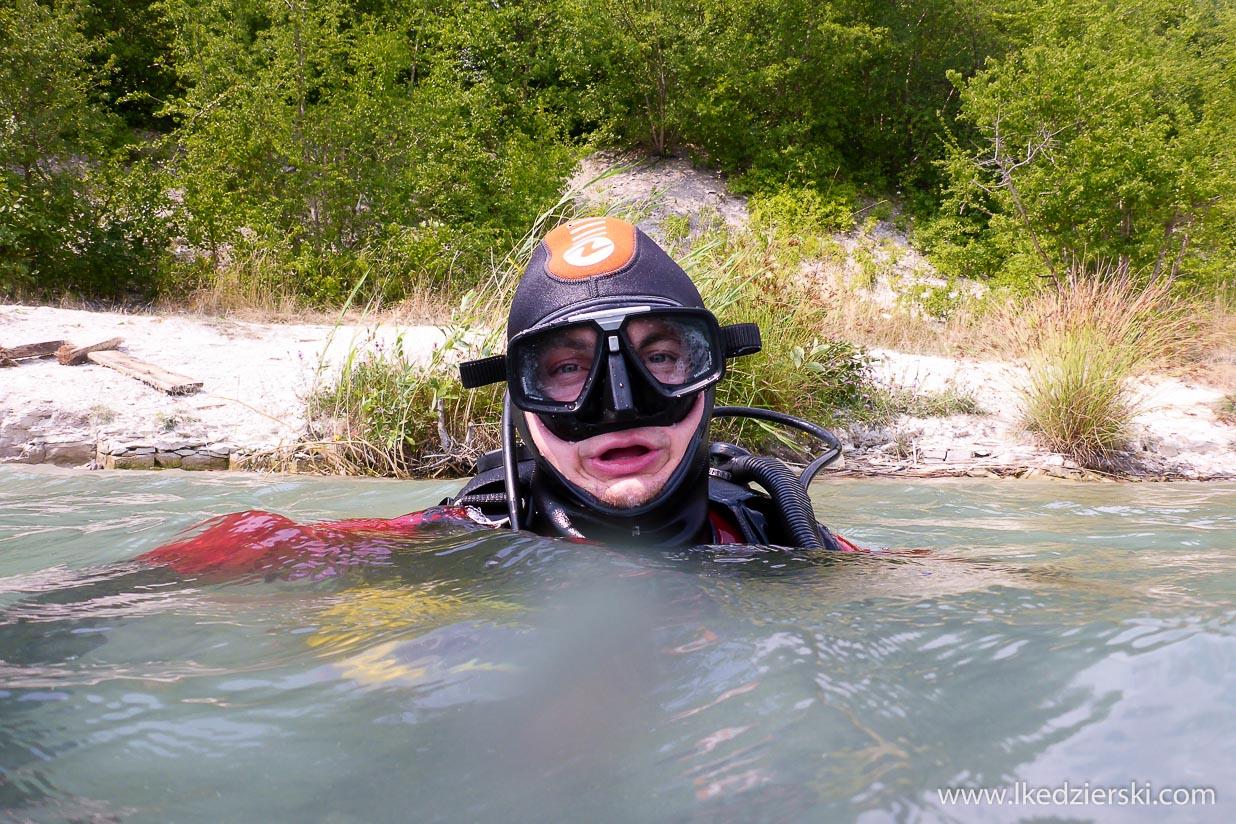 opole kamienionka piast nurkowanie w polsce