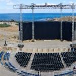 Cezarea – teatr rzymski i ruiny na plaży