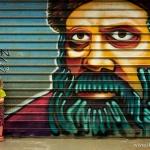 Street art w Yehuda Market
