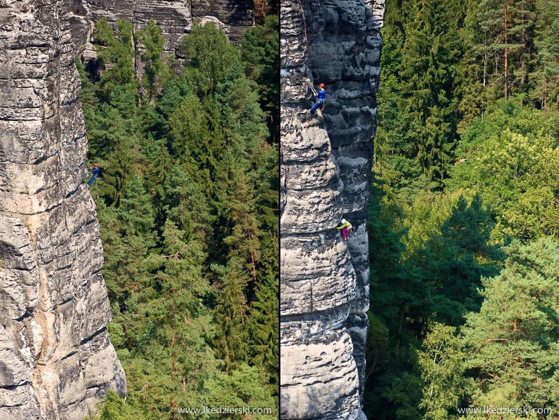 wspinaczka w szwajcarskiej saksonii