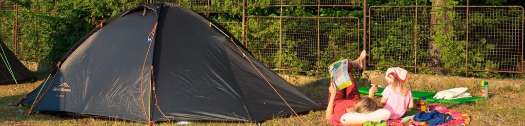 panorama camping pod namiotem