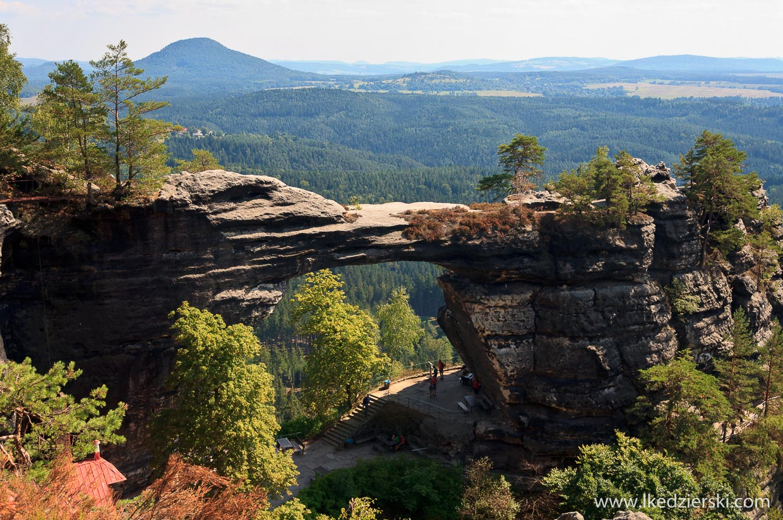 Pravčická brána łuk skalny