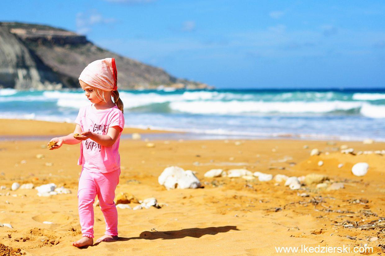Gozo. Ramla Bay
