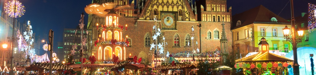 panorama wrocław jarmark bożonarodzeniowy