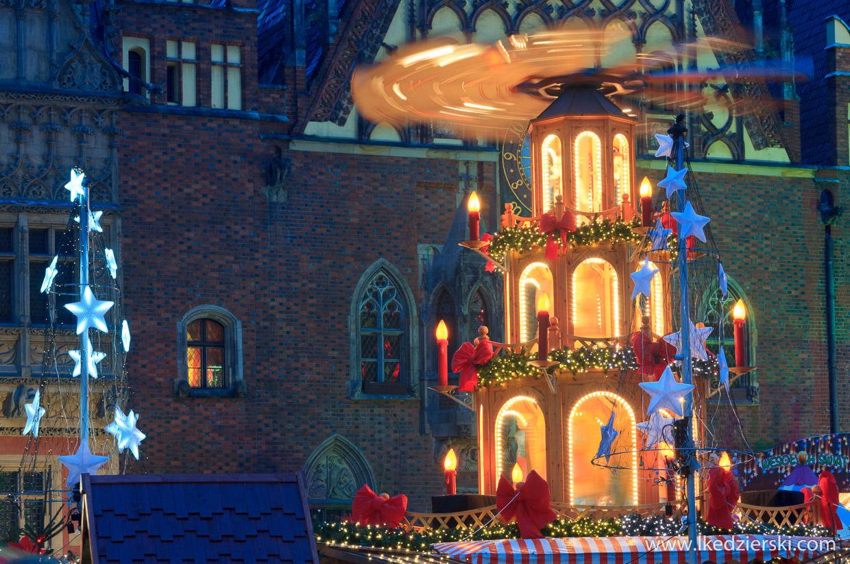 wrocław jarmark bożonarodzeniowy lunapark