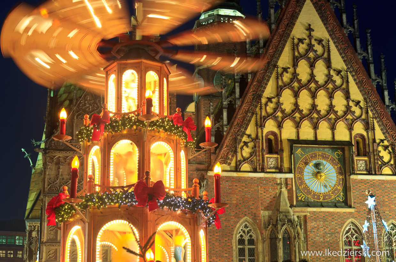 wrocław jarmark bożonarodzeniowy ratusz lunapark