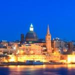 Valletta i Sliema w wieczorowej odsłonie