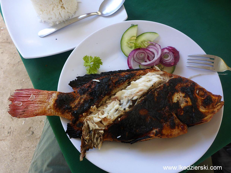 filipiny alona beach grilowana ryba