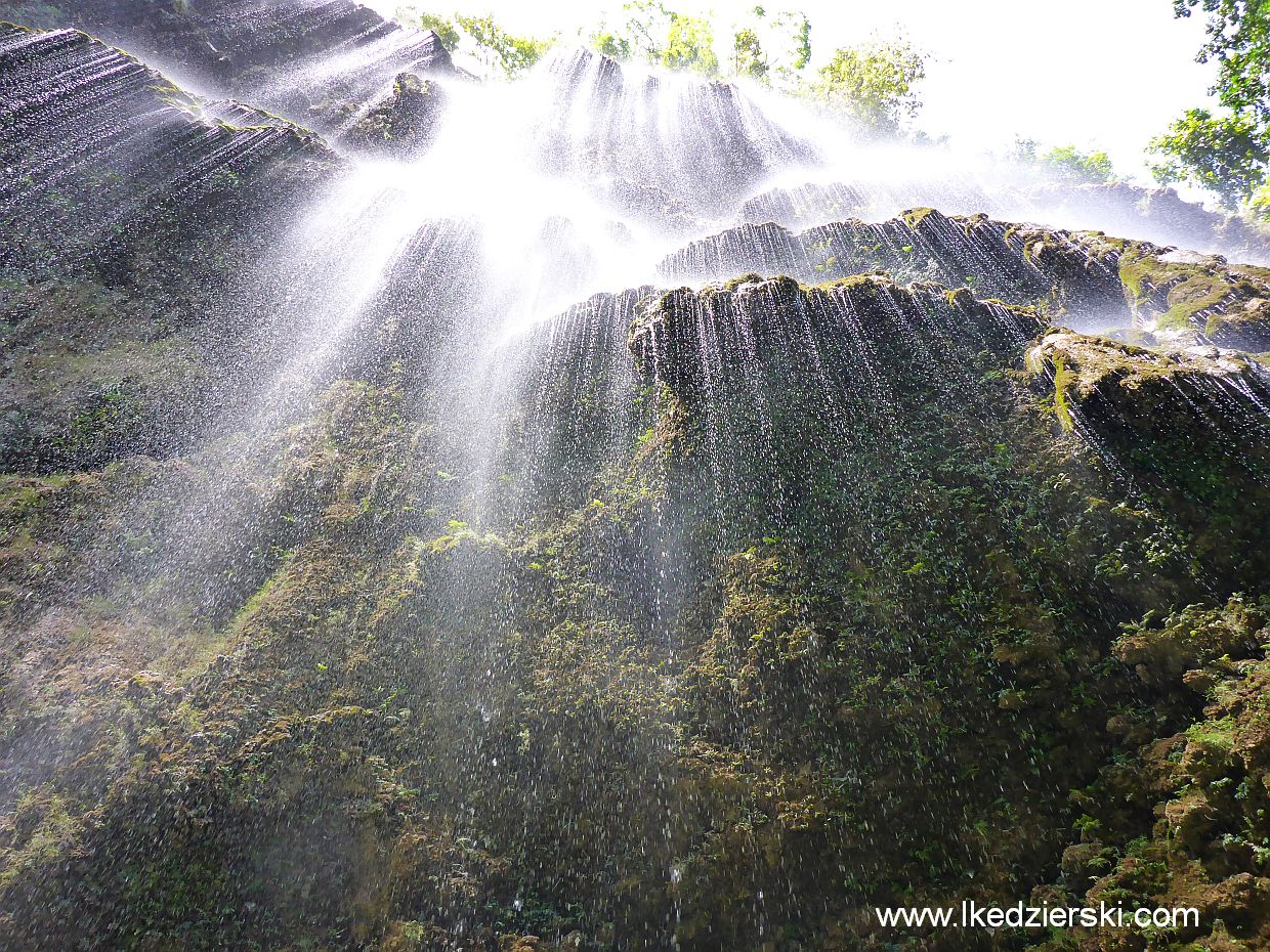 tumalog waterfall oslob