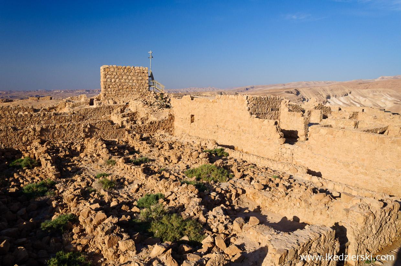 izrael masada twierdza