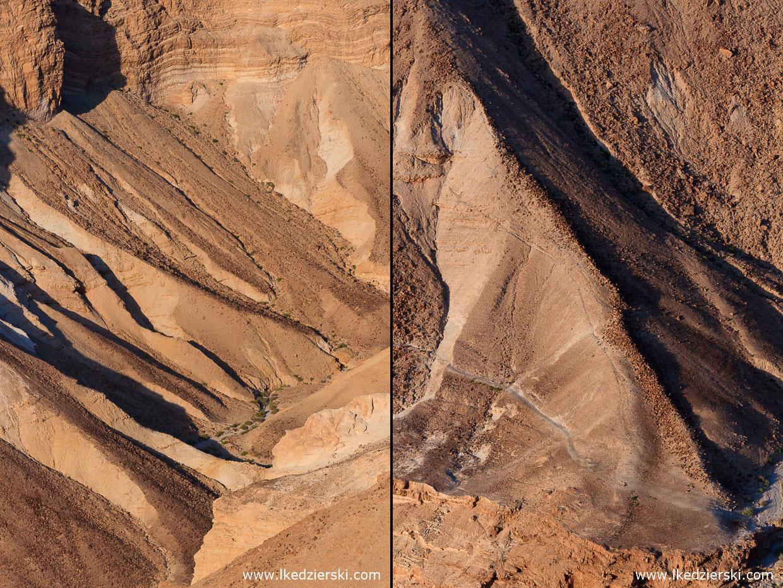 izrael masada pustynia judzka