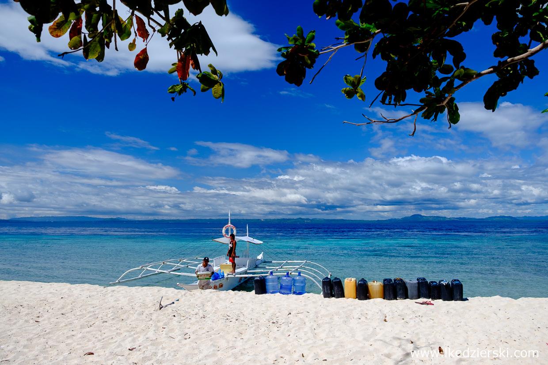 filipiny pamilacan woda wyspa