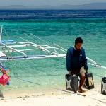 Dar wody na wyspie Pamilacan