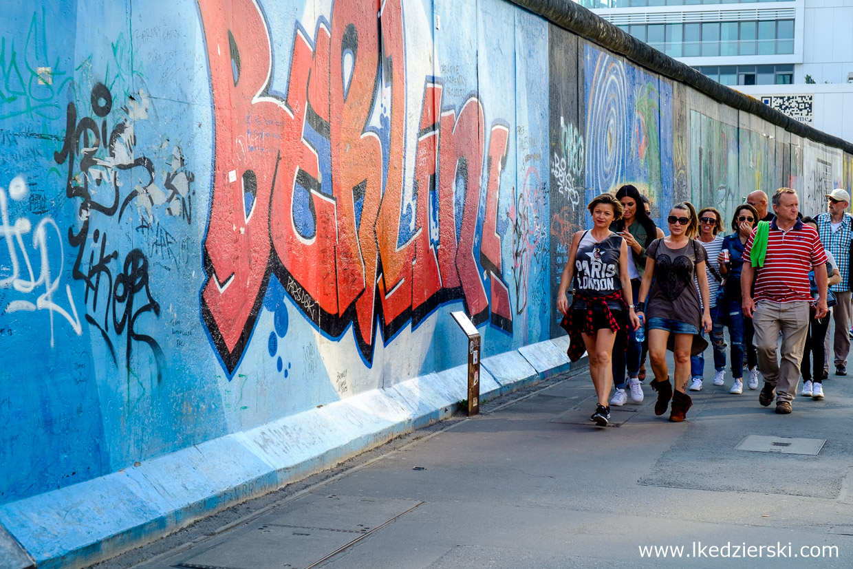 Mur Berliński – East Side Gallery