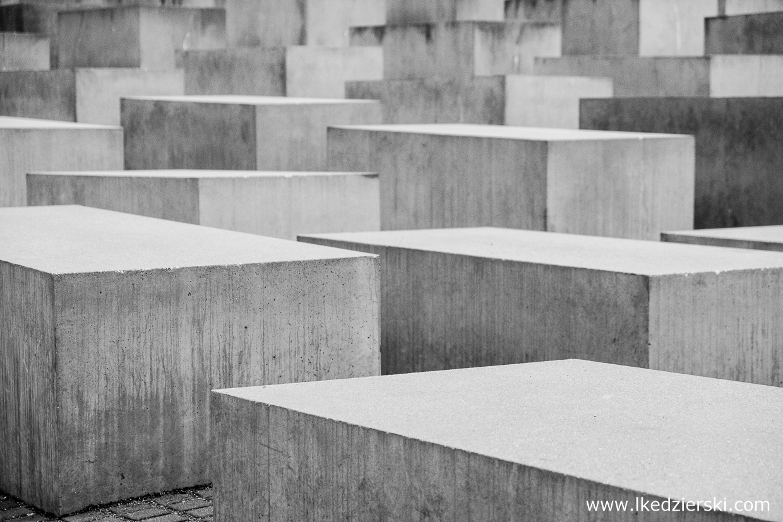 berlin Pomnik pomordowanych Żydów Europy Denkmal für die ermordeten Juden Europas