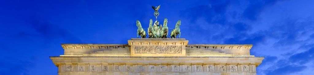 panorama berlin brama brandenburska
