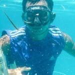 Polowanie na ryby z kuszą na Pamilacan