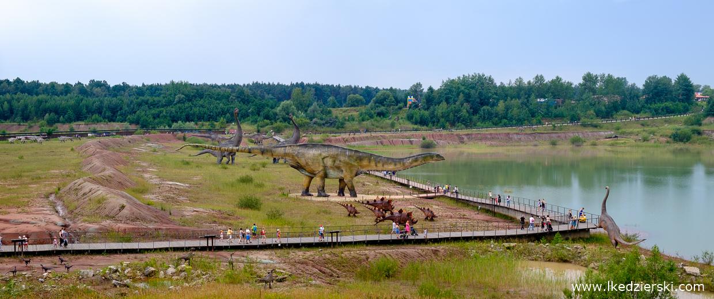 JuraPark Krasiejów panorama parku