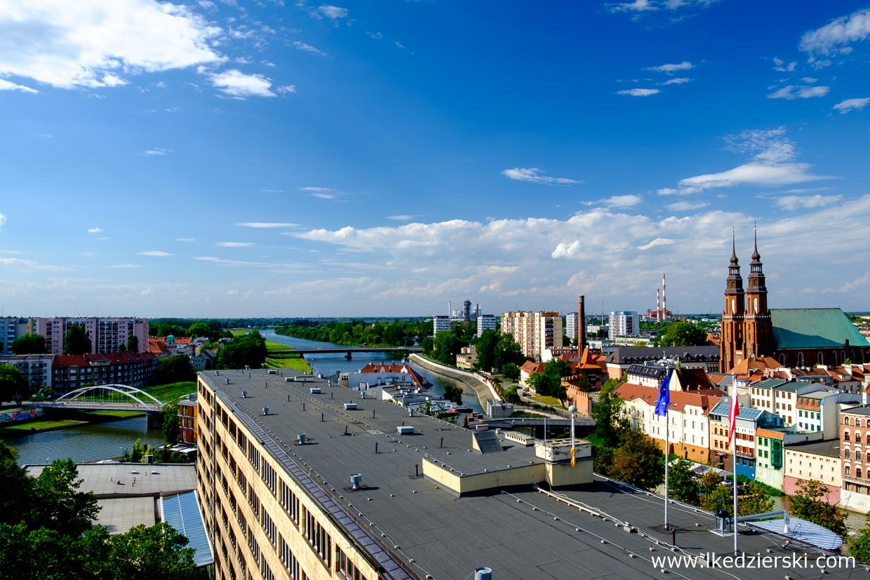 opole na weekend widok z wieży piastowskiej