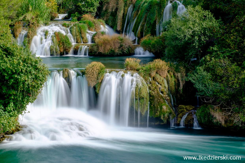 chorwacja wodospady krka park narodowy krka