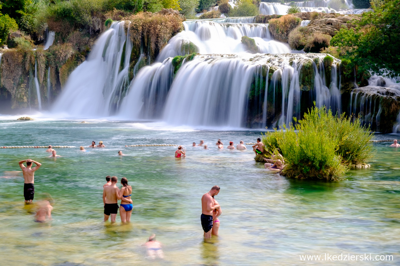 chorwacja wodospady krka skradinski buk park narodowy krka