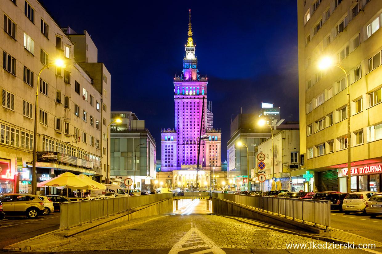 Warszawa. Pałac Kultury i Nauki.