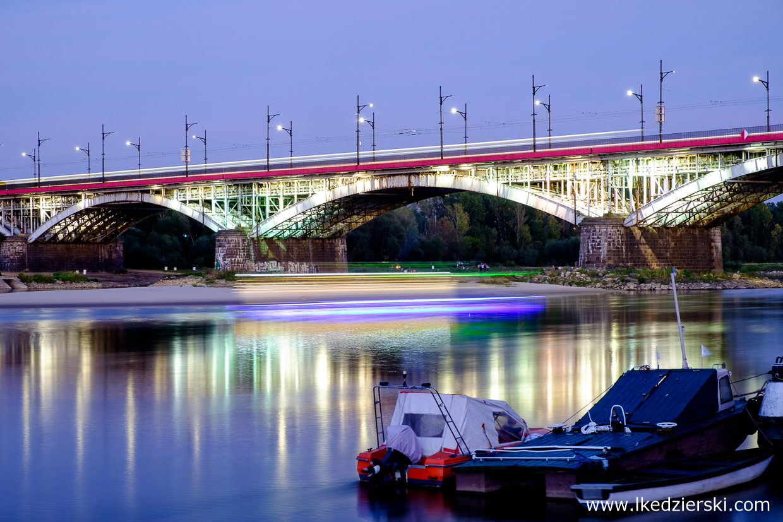 Warszawa. Most Poniatowskiego.