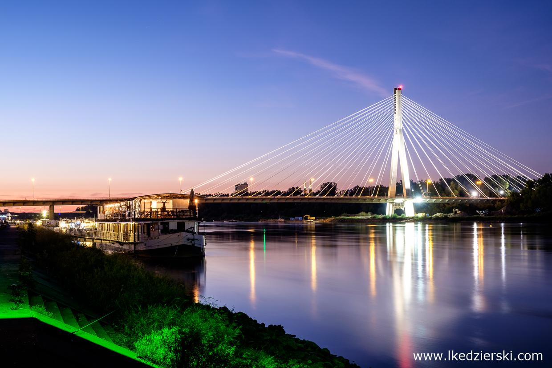 Warszawa. Most Świętokrzyski.