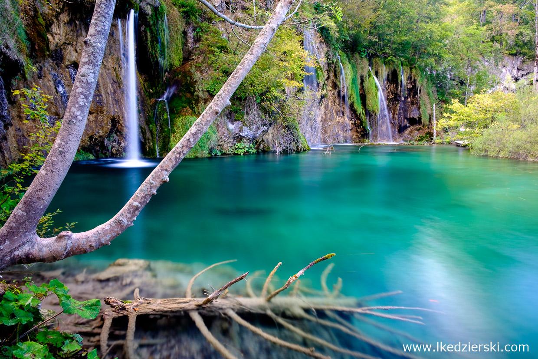chorwacja jeziora plitwickie Plitvička jezera