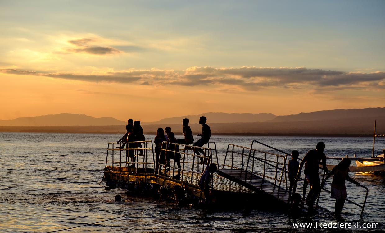 filipiny apo island daily life codzienne życie tropikalna wyspa tropical island