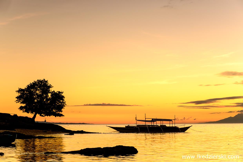 filipiny zachód słońca sunset philippines