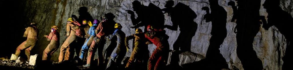 panorama jaskinia skednena