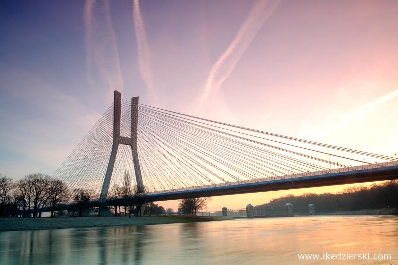 most rędziński wrocław mosty wrocławia wschód słońca sunrise