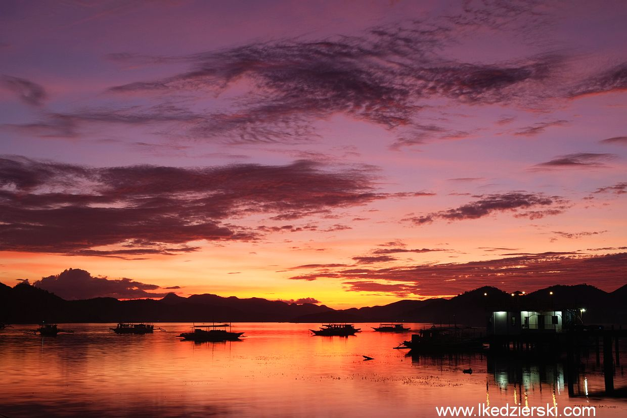 busuanga coron sunset
