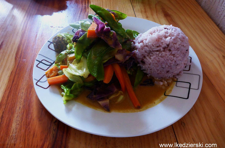Sagada. Yoghurt House jedzenie