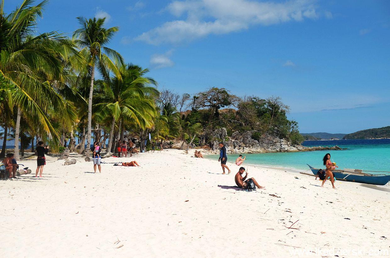 Coron. Tour C. Malcapuya Island