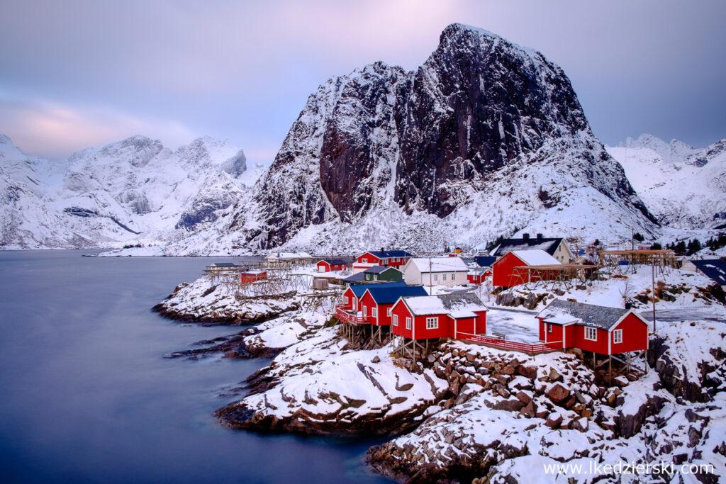 norwegia lofoty zima