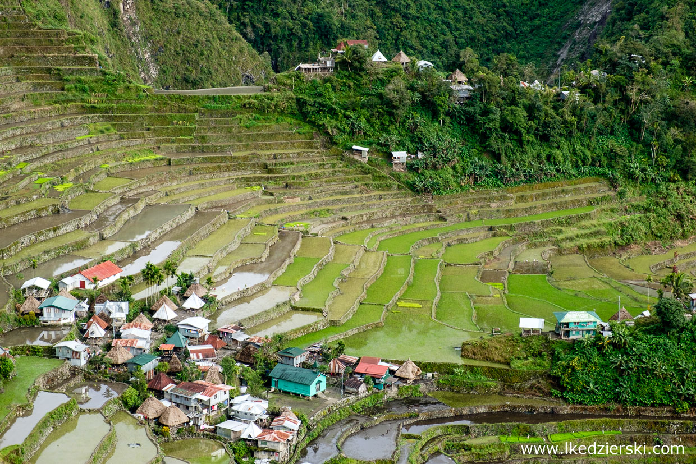 filipiny batad tarasy ryżowe rice fields