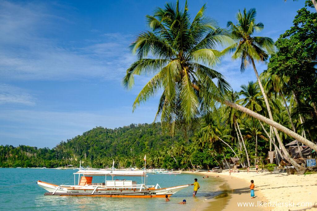 filipiny port barton plaża beach