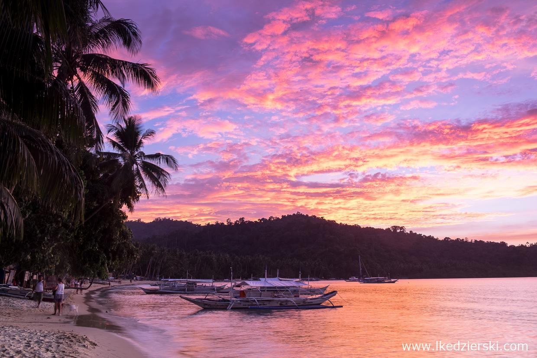 filipiny port barton sunset zachód słońca